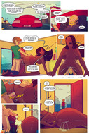 Started new comic from Jabcomix - Keeping it up with the Joneses 5 - 11 pages