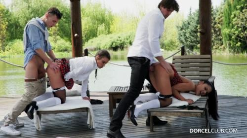 [DorcelClub] Anita Bellini And Apolonia Lapiedra From Students To Sluts (2017/468.98 MB/1080p)
