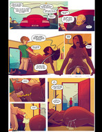 Started new comic from Jabcomix - Keeping it up with the Joneses 5 - 22 pages