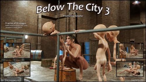 Below the City 3 by Blackadder