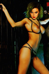 Katy Perry topless photo shoot for Treats! magazine UHQ