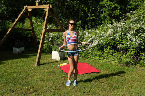ALSScan.com – Charity Crawford Hula And Hooping [July 23, 2017]