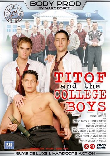 Titof and the College Boys aka College Cocks Cover Front