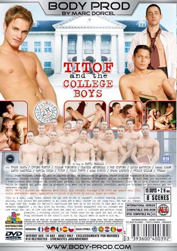 Titof and the College Boys aka College Cocks Cover Back