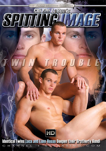 Spitting Image Twin Trouble Cover Front
