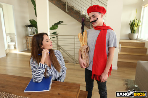 BangBrosClips.com – Anissa Kate Juan Fucks The Hot French Teacher [November 2, 2017]