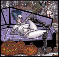 Theseus9 Halloween Hangout with Futa Bride