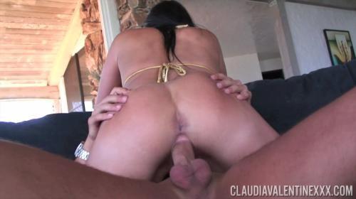 [PornstarPlatinum] Claudia Valentine Dancing For Dick (2017/2.19 GB/1080p)