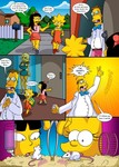 The Simpsons - Treehouse of Horror - Part 3 art by Kogeikun
