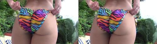 InTheCrack E1346 Candice Dare Dares A Girl In A Bikini 3D