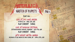 Metallica - Master Of Puppets (Deluxe Box Set) [2017] (2xDVD9)