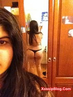 Chubby Desi Girlfriend Selfie Nude