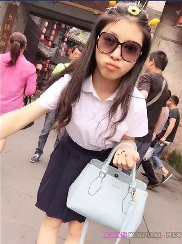 [Reupload]Hangzhou Academy sportswear adorable teen sex scandal