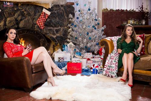 MomKnowsBest.com – Chanel Preston And Jillian Janson Tight Xxxmas [December 21, 2017]