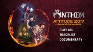 Anthem - Attitude 2017 -  Live And Documents (2018) [Blu-ray]