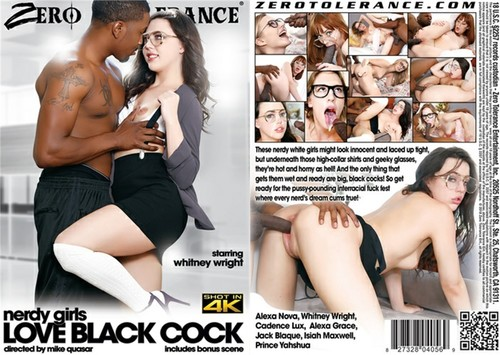 Nerdy Girls Love Black Cock