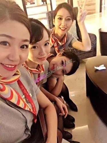 China Eastern Airlines denies rumors of steamy flight attendant orgy (Full 7 videos)