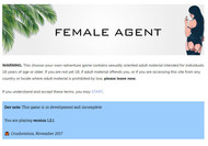 Female Agent Bug fix version 1.4 by Crushstation