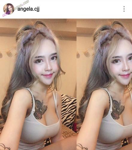 Singaporean girl Angela Cjj aka Angela Lam nude sexy leaked fucking