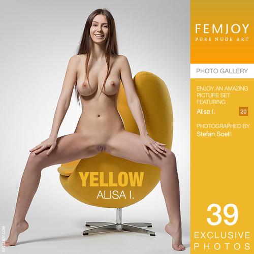 Femjoy.com – Alisa I Yellow [May 19, 2018]