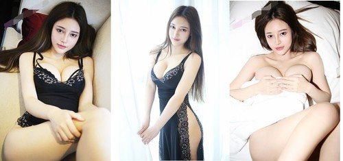 Sweety chinese nude model Tang Qier portraut video