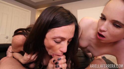 [PornstarPlatinum] Ariella Ferrera And Brooke Johnson POV (2018/1.15 GB/1080p)