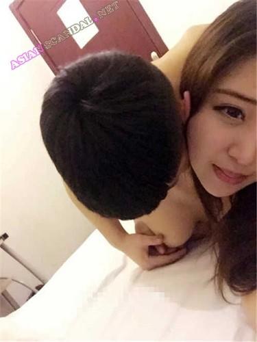 Asian beautiful Girlfriend Wang Dongyao
