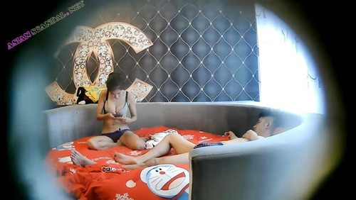 Hot Hotel Hidden Cam Asian Couple Sex Video