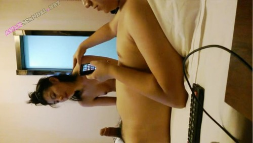 Asian beautiful girl forced video scene by boyfriend