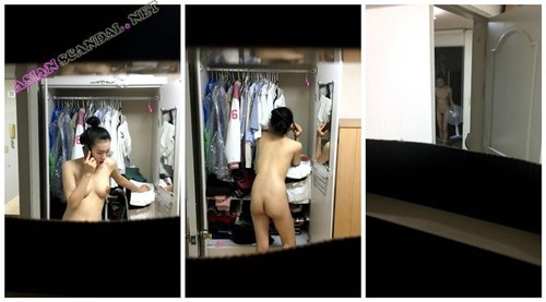 Singaporean changing room voyeur