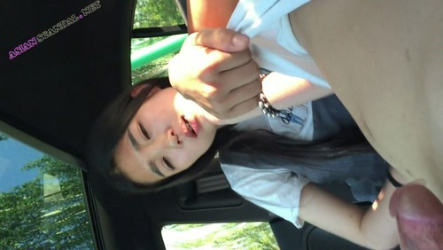 Rich family Chinese girl fucking in car