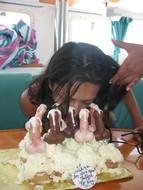 cock lick on birthday