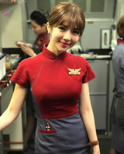 Hua Airlines Qbee Zhang Bibi Sex Scandal