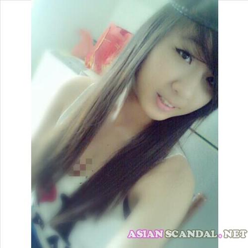 Vlogger Monolid Girl Shu Yi Shows Her Tits