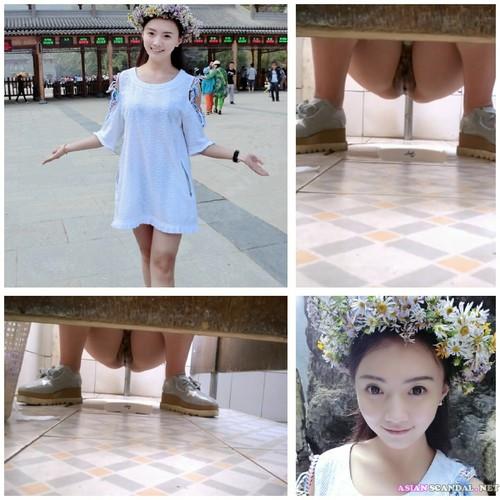 The girl pure goddess of the Tianshan Snow Lotus
