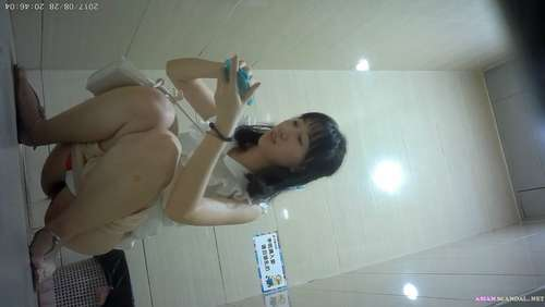 Chinese Lady In Toilet #10