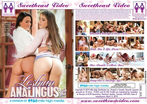 Lesbian Analingus 13