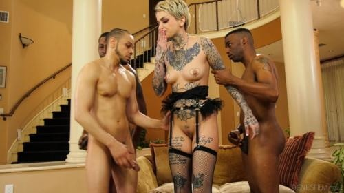 [DevilsFilm] Leigh Raven Blacked Out (2019/8.93 GB/2160p)