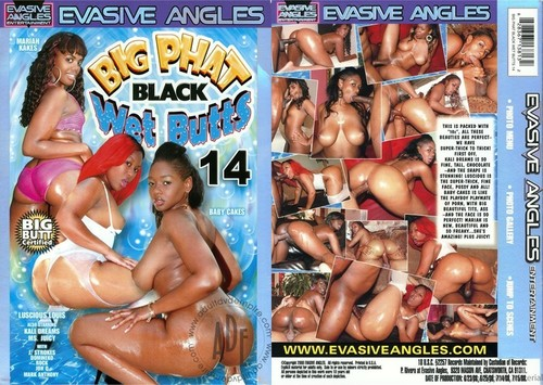 Big Phat Black Wet Butts 14