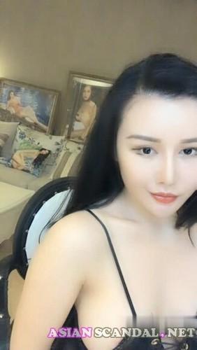 Net red girl, temptation, masturbation show