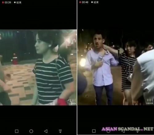 Lan Kwai Fong Commercial Street leaked sex video