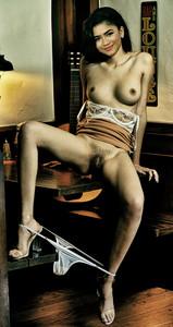 Zendaya Coleman naked on Euphoria poster UHQ