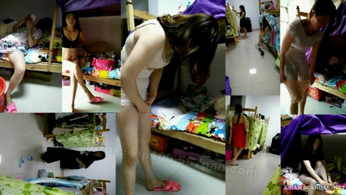 A college student girl Leaked WeChat Naked Videos