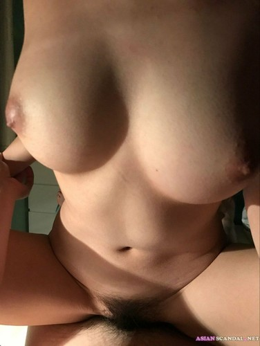 Asian Teen with big tits fucked by Her Boyfriend